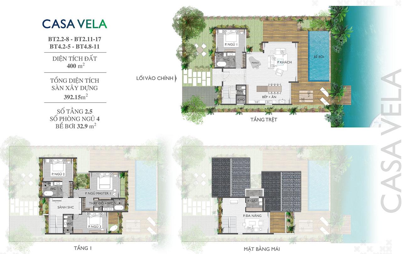 Thiết kế dự án biệt thự Casamia Hội An