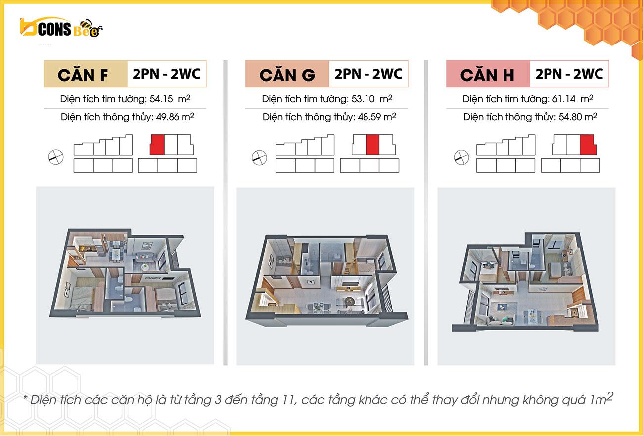 Thiết kế dự án căn hộ chung cư Bcons Bee Bình Dương