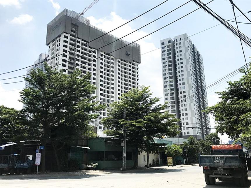Tiến độ xây dựng dự án căn hộ Sky89 Quận 7 tháng 07.2020