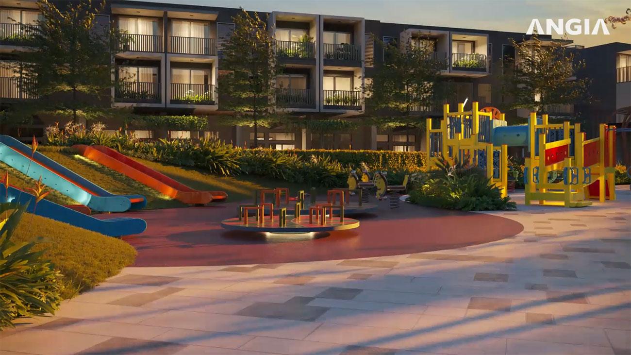 Tiện ích dự án nhà phố The Standard Central Park chủ đầu tư An Gia