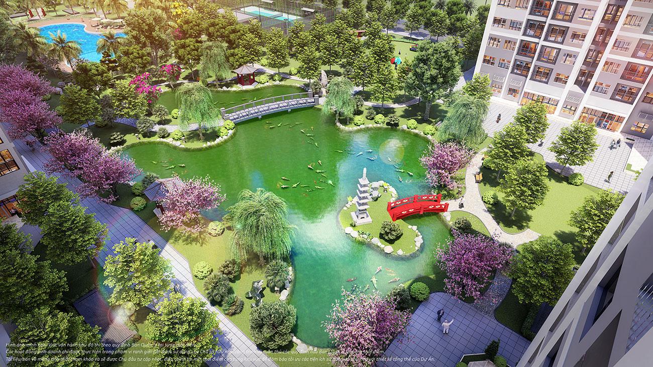 Tiện ích căn hộ chung cư phân khu The Origami dự án Vinhomes Grand Park Quận 9 chủ đầu tư Vingroup
