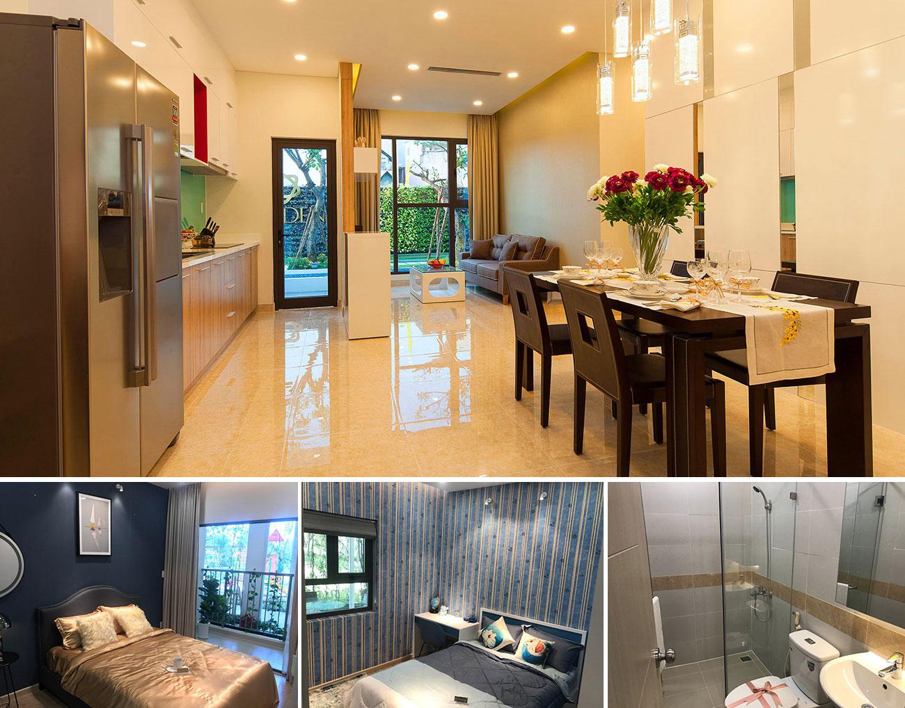 Nhà mẫu dự án căn hộ chung cư Eco Xuân Thuận An Bình Dương