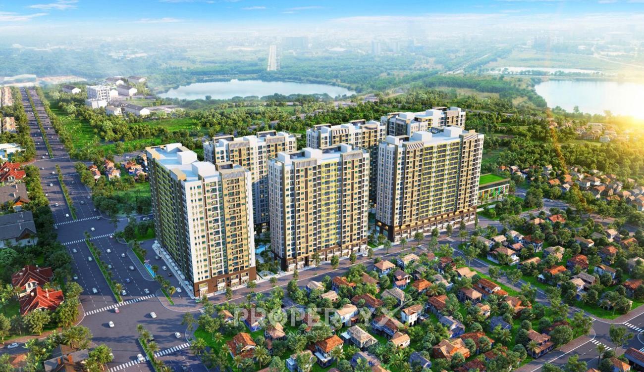 Phối cảnh dự án căn hộ chung cư New Galaxy Dĩ An Bình Dương chủ đầu tư Hưng Thịnh