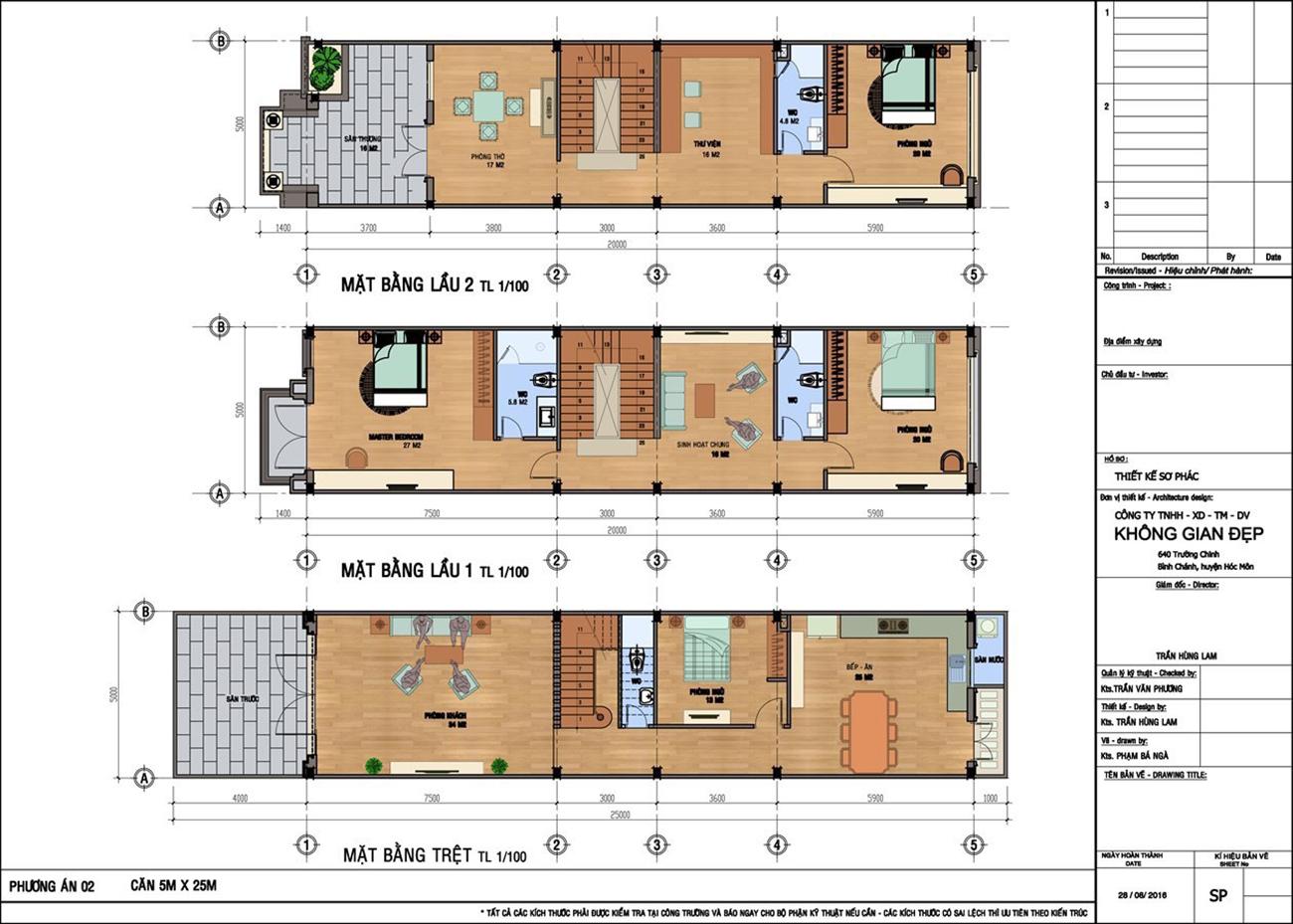 Thiết kế dự án nhà phố chung cư Champaca Garden Dĩ An Bình Dương