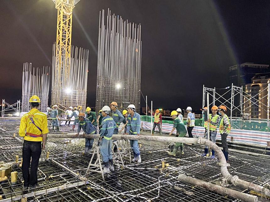 Tiến độ xây dựng dự án căn hộ The Sóng Vũng Tàu tháng 08.2020