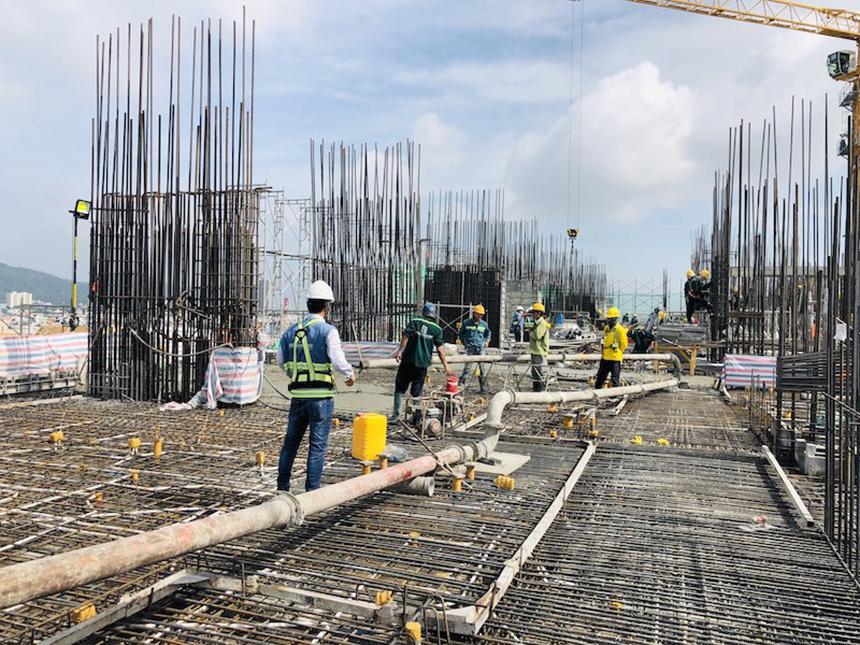 Tiến độ xây dựng dự án căn hộ The Sóng Vũng Tàu tháng 09.2020