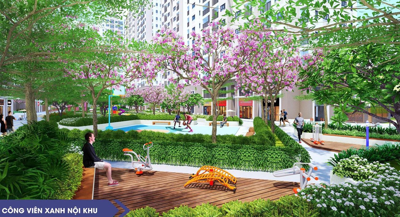 Tiện ích dự án căn hộ chung cư New Galaxy Dĩ An Bình Dương chủ đầu tư Hưng Thịnh