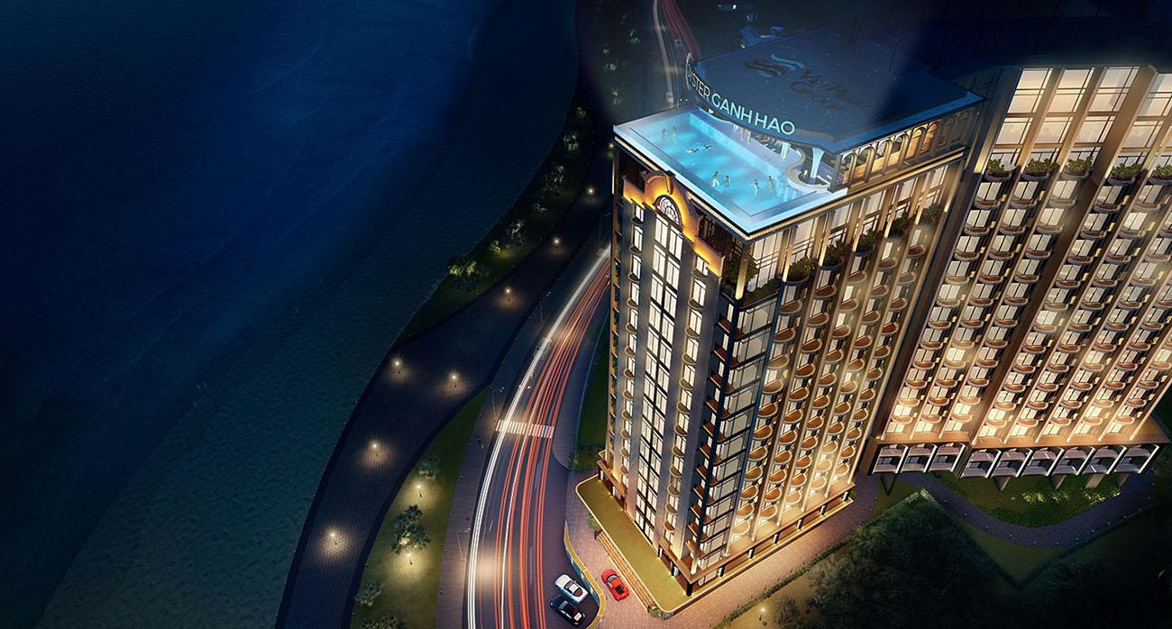 Tiện ích dự án căn hộ condotel Oyster Gành Hào đường Trần Phú Vũng Tàu