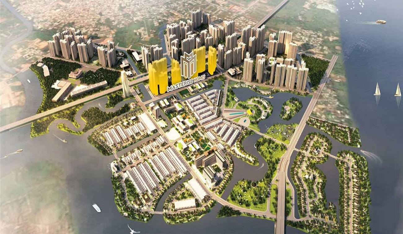 Quy mô dự án căn hộ chung cư Masteri Centre Point Quận 9 chủ đầu tư Masterise Homes