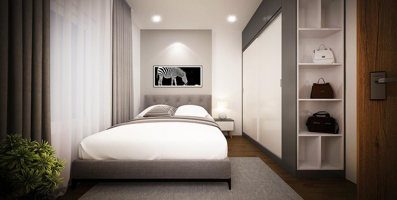 Nhà mẫu căn hộ 02 phòng ngủ dự án chung cư Legacy Central Bình Dương chủ đầu tư Kim Oanh Group