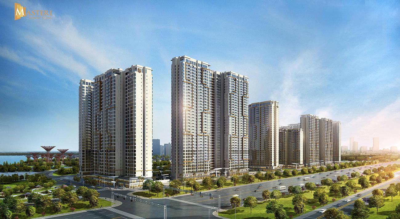Phối cảnh tổng thể dự án căn hộ chung cư Masteri Centre Point Quận 9 chủ đầu tư Masterise Homes