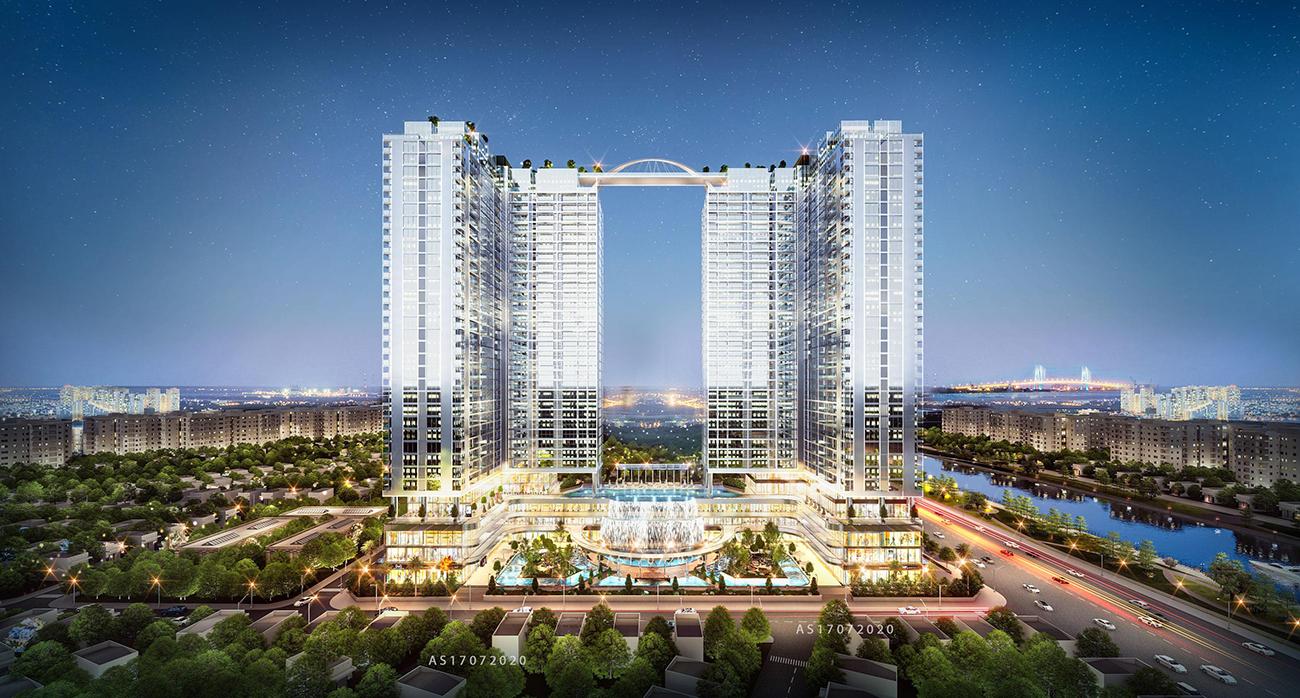 Quy mô dự án căn hộ chung cư sunshine Horizon quận 4 đường Tôn Thất Thuyết chủ đầu tư Sunshine Group