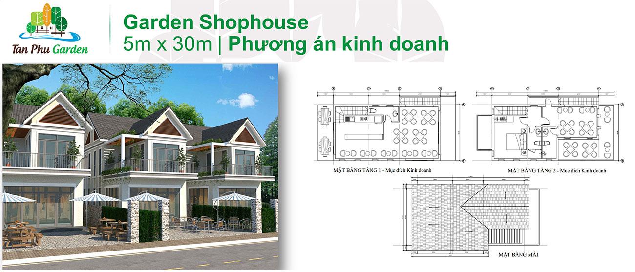 Thiết kế dự án đất nền nhà phố Tân Phú Garden Đồng Nai