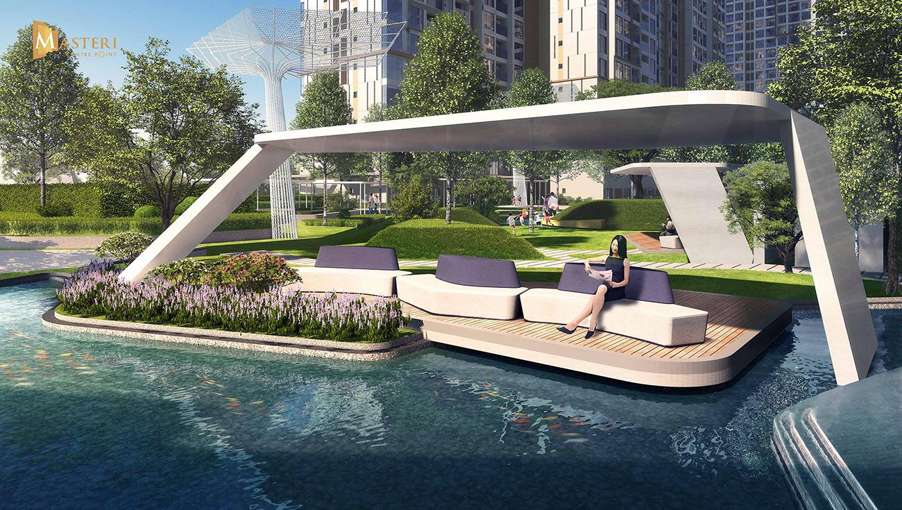 Tiện ích dự án căn hộ chung cư Masteri Centre Point Quận 9 chủ đầu tư Masterise Homes