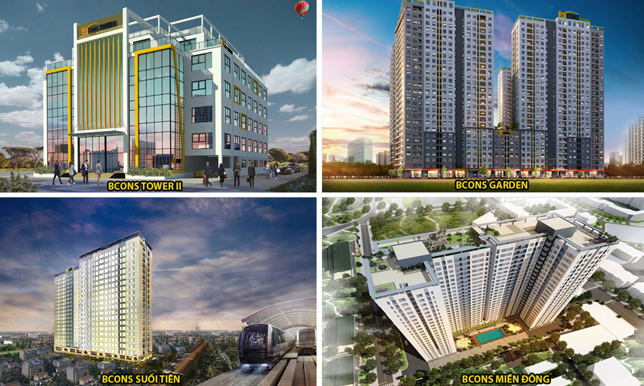 Chủ đầu tư dự án căn hộ chung cư Bcons Plaza Bình Dương