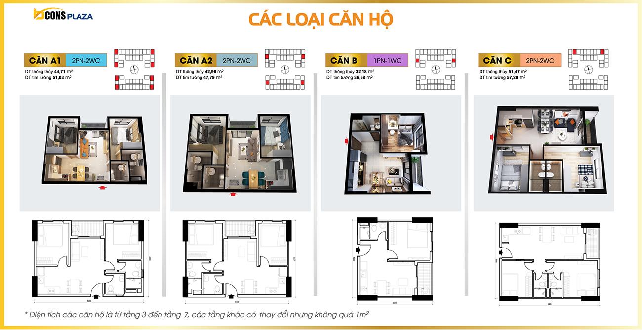 Thiết kế dự án căn hộ chung cư Bcons Plaza Bình Dương