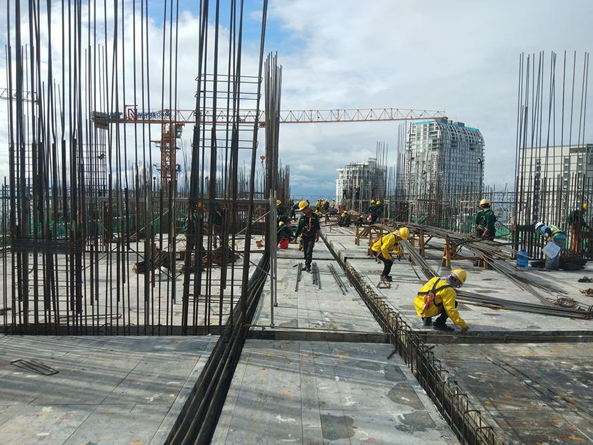 Tiến độ xây dựng dự án căn hộ The Sóng Vũng Tàu tháng 10.2020