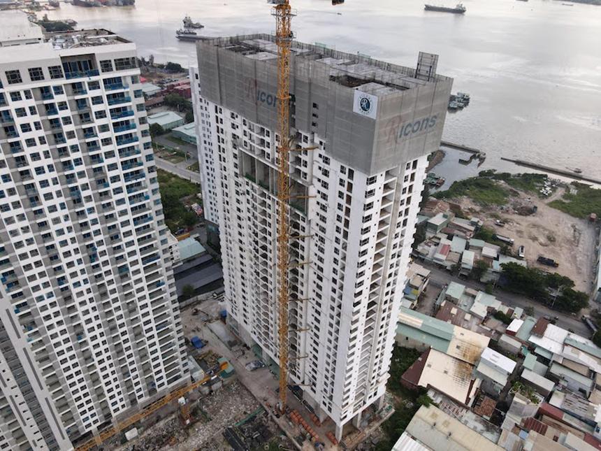 Tiến độ xây dựng dự án căn hộ Sky89 Quận 7 tháng 10.2020