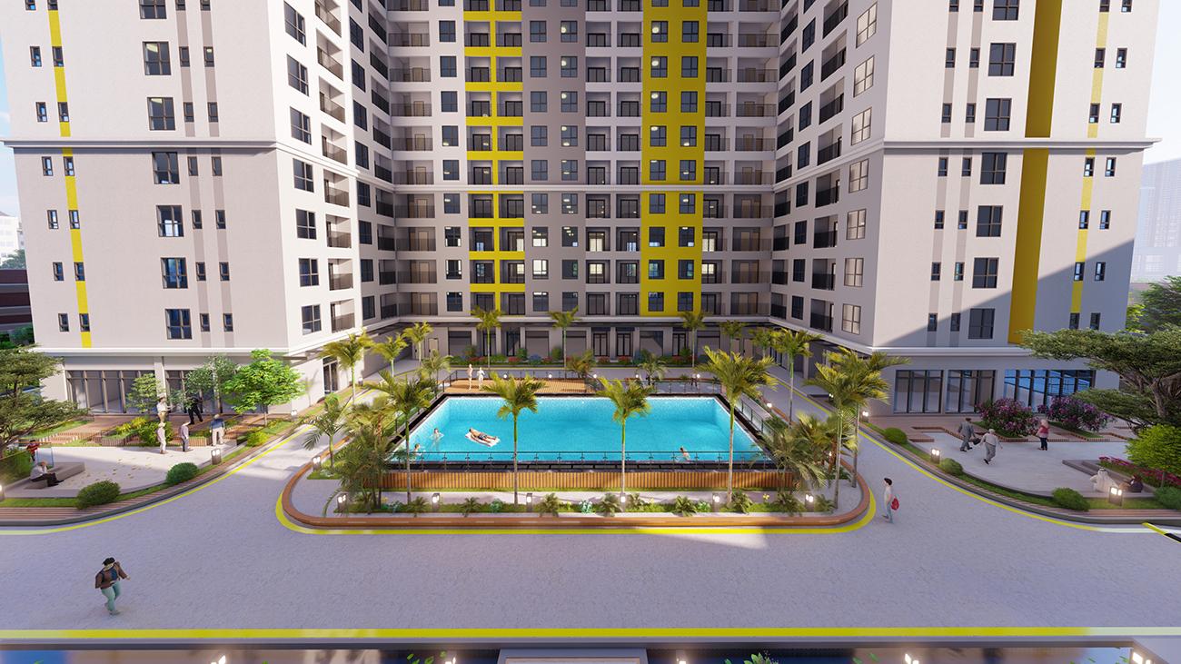Tiện ích dự án căn hộ chung cư Bcons Plaza Bình Dương