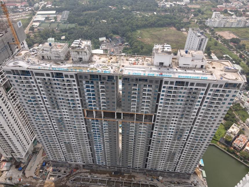 Tiến độ xây dựng dự án căn hộ River Panorama Quận 7 tháng 11.2020