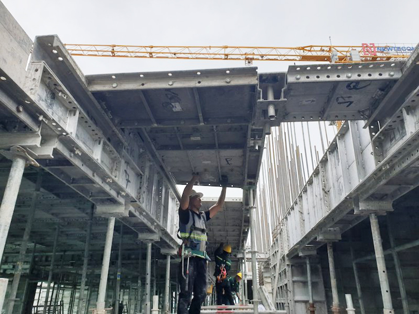 Tiến độ xây dựng dự án căn hộ The Sóng Vũng Tàu tháng 11.2020