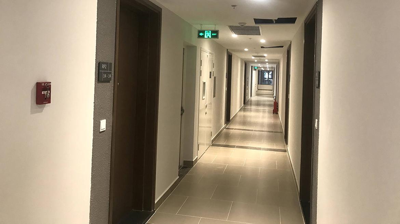 Hình ảnh thực tế dự án căn hộ chung cư River Panorama Quận 7 đường Hoàng Quốc Việt chủ đầu tư An Gia