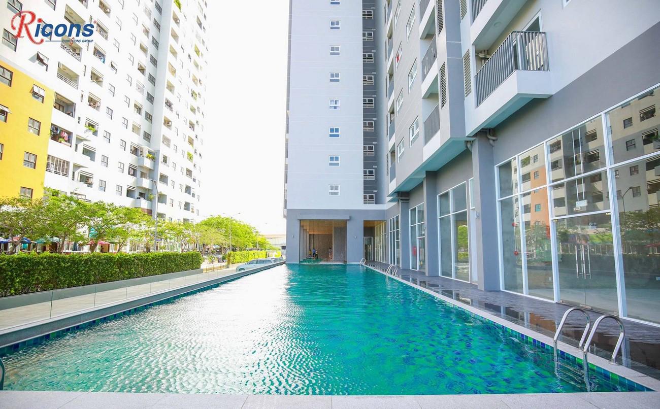 Hình ảnh thực tế dự án căn hộ chung cư The Star Bình Tân