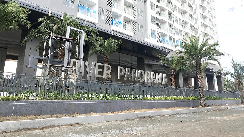 Phối cảnh tổng thể dự án căn hộ chung cư River Panorama Quận 7 đường Hoàng Quốc Việt chủ đầu tư An Gia