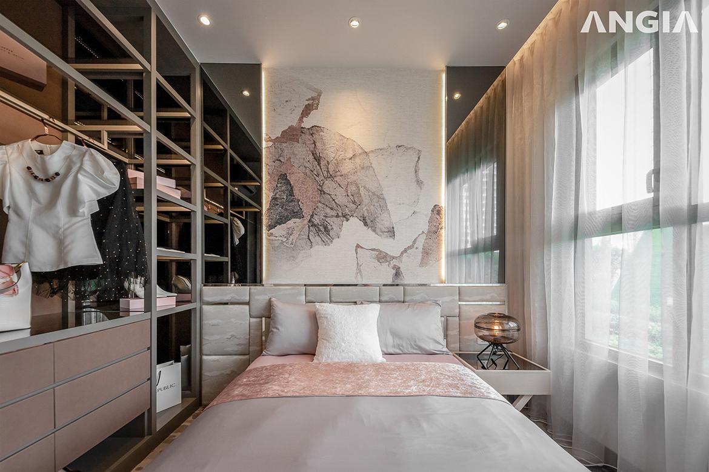 Nhà mẫu dự án căn hộ chung cư West Gate Bình Chánh chủ đầu tư An Gia