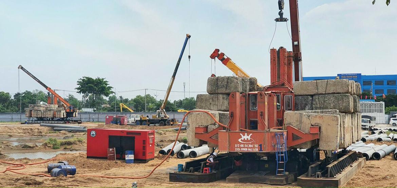 Cập nhật tiến độ xây dựng dự án căn hộ chung cư West Gate Bình Chánh tháng 01/2021