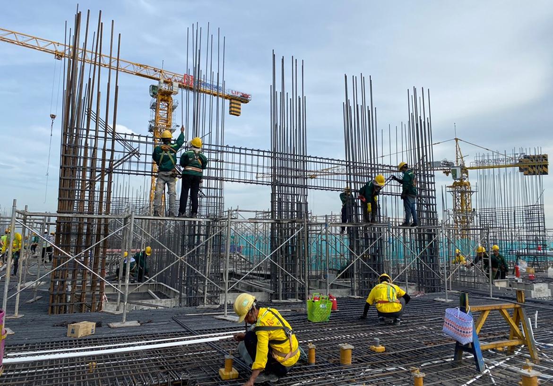 Tiến độ xây dựng dự án căn hộ The Sóng Vũng Tàu tháng 01.2021