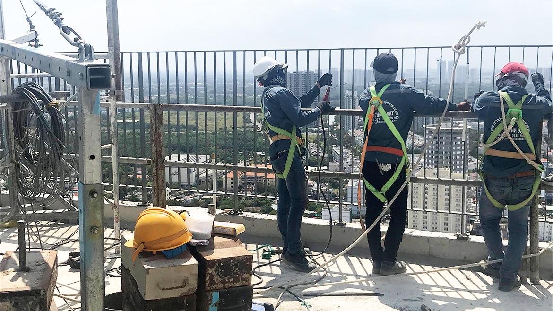 Tiến độ xây dựng dự án căn hộ Sky89 Quận 7 tháng 04.2021