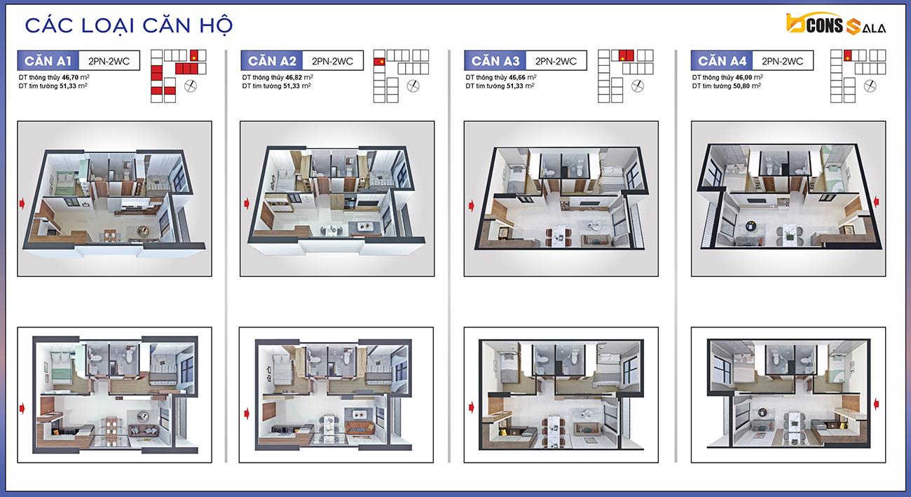 Thiết kế dự án căn hộ chung cư Bcons Sala Bình Dương
