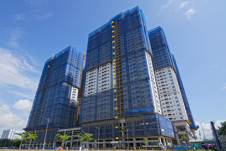 Tiến độ dự án căn hộ Q7 Riverside tháng 5/2021 từ chủ đầu tư Hưng Thịnh