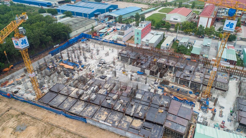 Tiến độ daự án căn hộ chung cư Legacy Central Bình Dương chủ đầu tư Kim Oanh Group