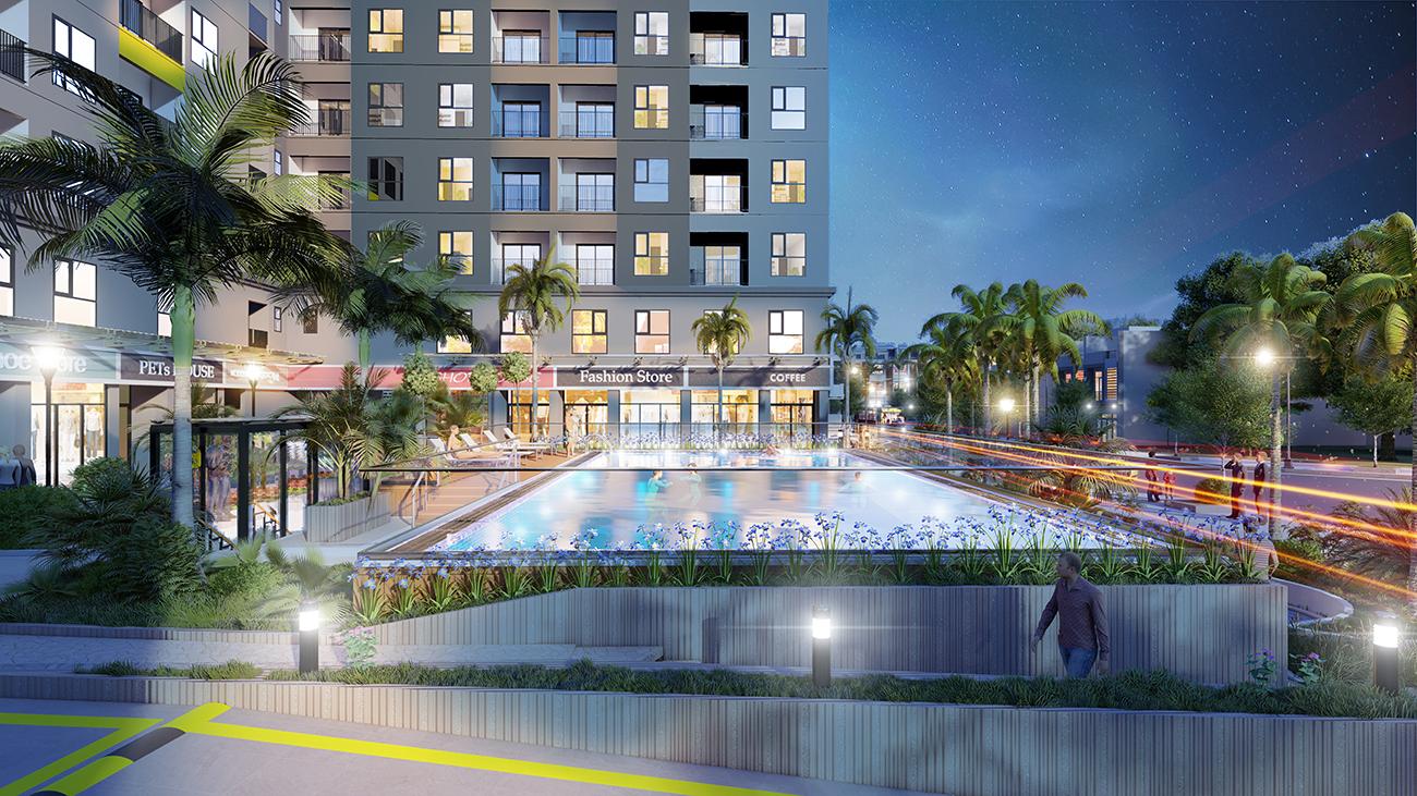 Tiện ích dự án căn hộ chung cư Bcons Sala Bình Dương