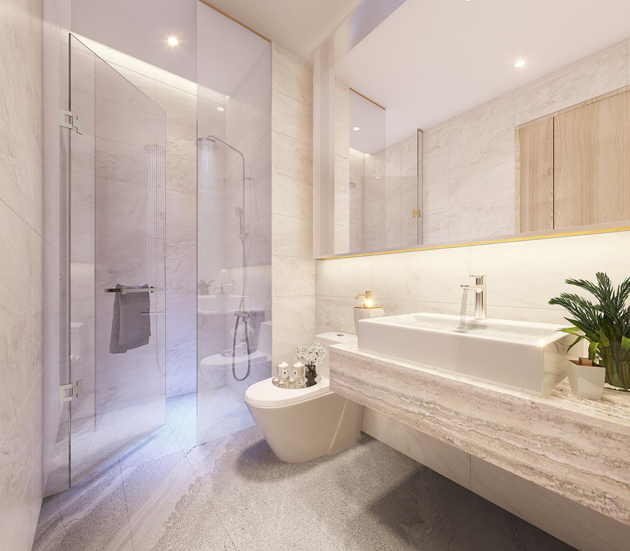 Nhà mẫu dự án căn hộ chung cư Thảo Điền Green Quận 2 đường Nguyễn Văn Hưởng