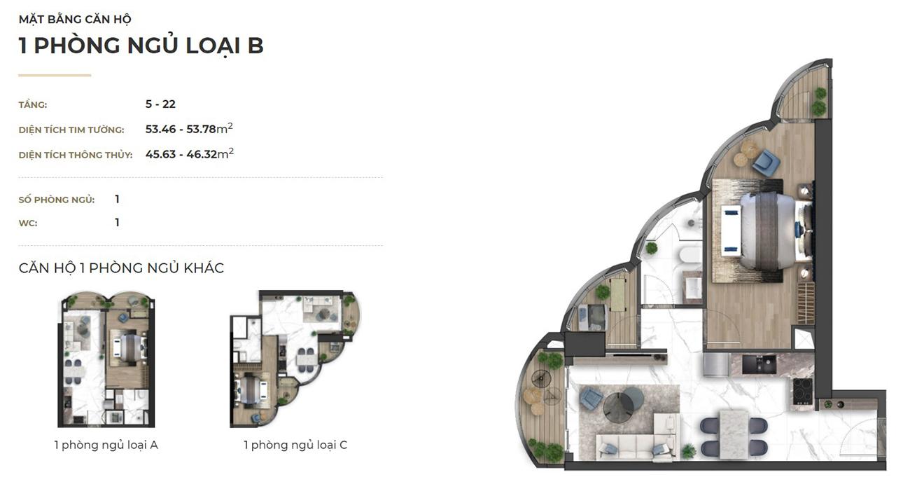 Thiết kế dự án căn hộ chung cư Asiana Đà Nẵng chủ đầu tư Gotec Land