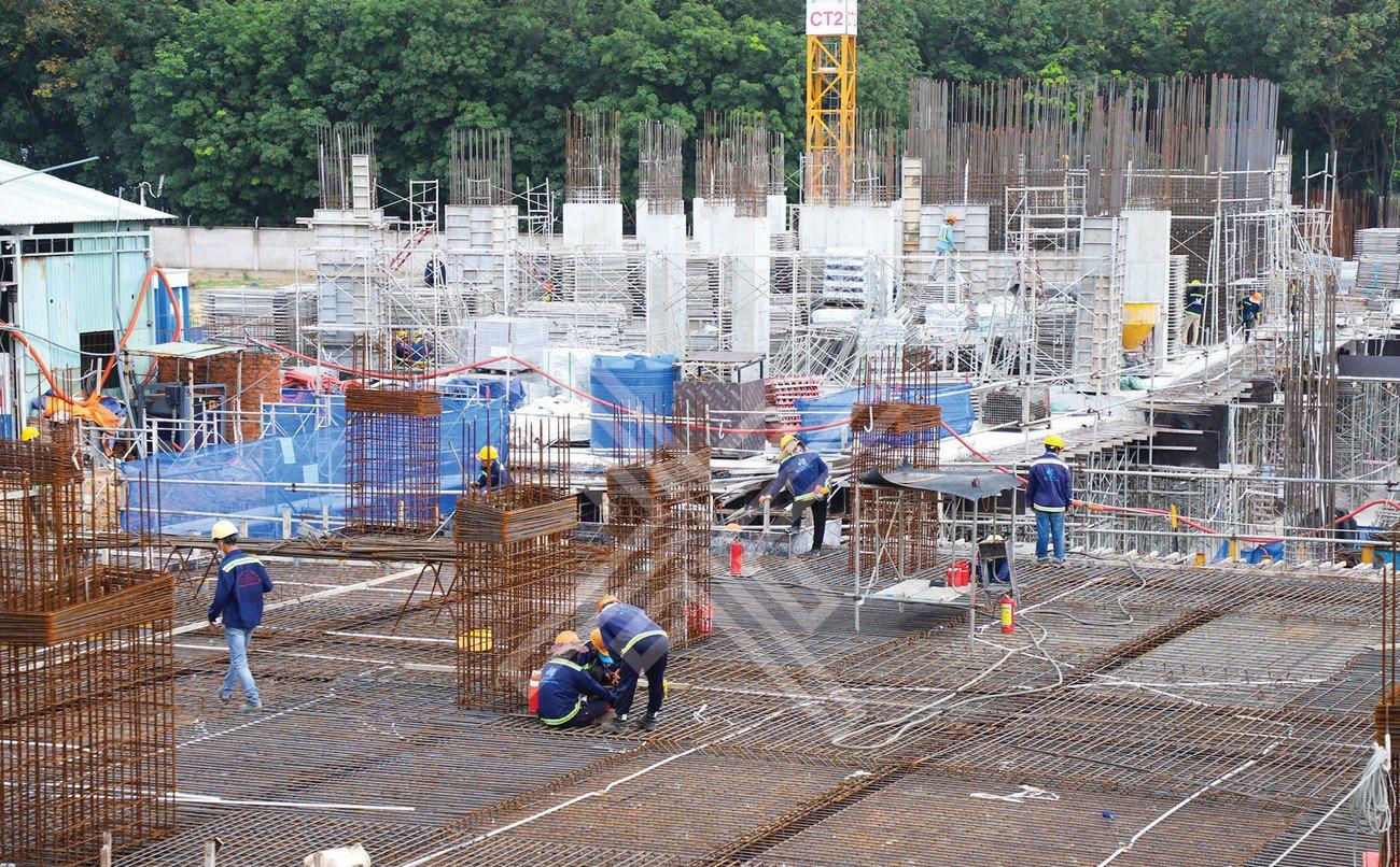 Tiến độ dự án căn hộ chung cư Legacy Central Bình Dương chủ đầu tư Kim Oanh Group tháng 06/2021