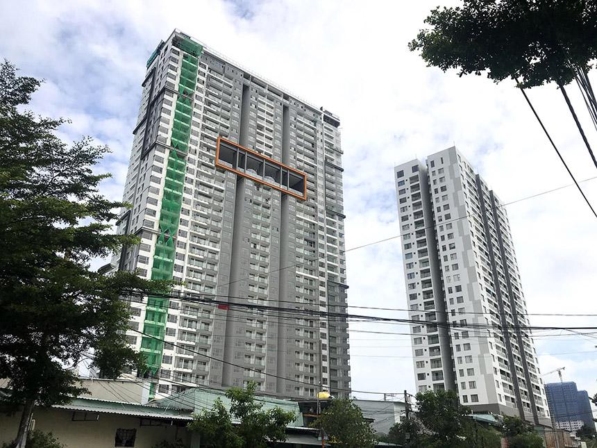Tiến độ xây dưng dự án căn hộ Sky89 Quận 7 tháng 06/2021