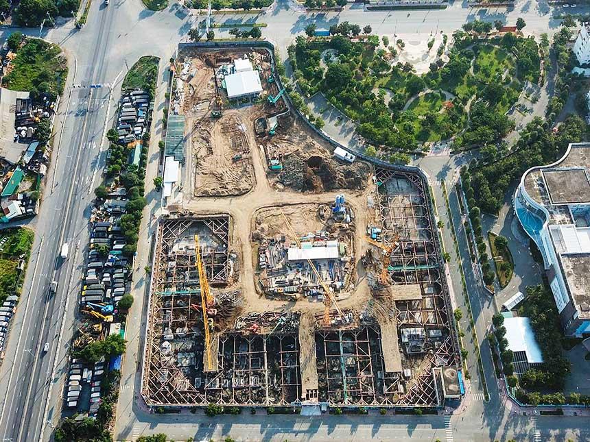 Tiến độ xây dựng dự án căn hộ West Gate Bình Chánh tháng 07/2021