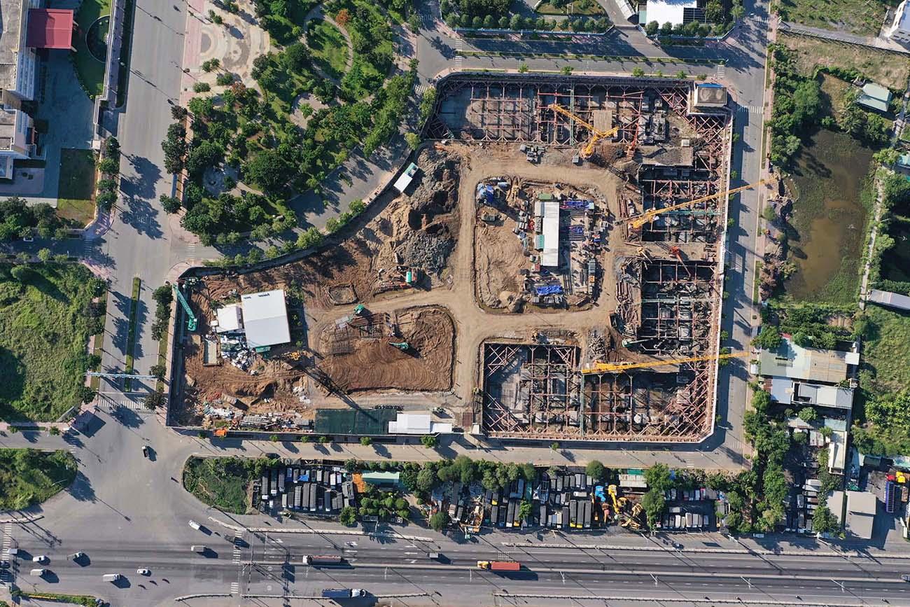 Tiến độ xây dựng dự án căn hộ West Gate Bình Chánh tháng 07.2021