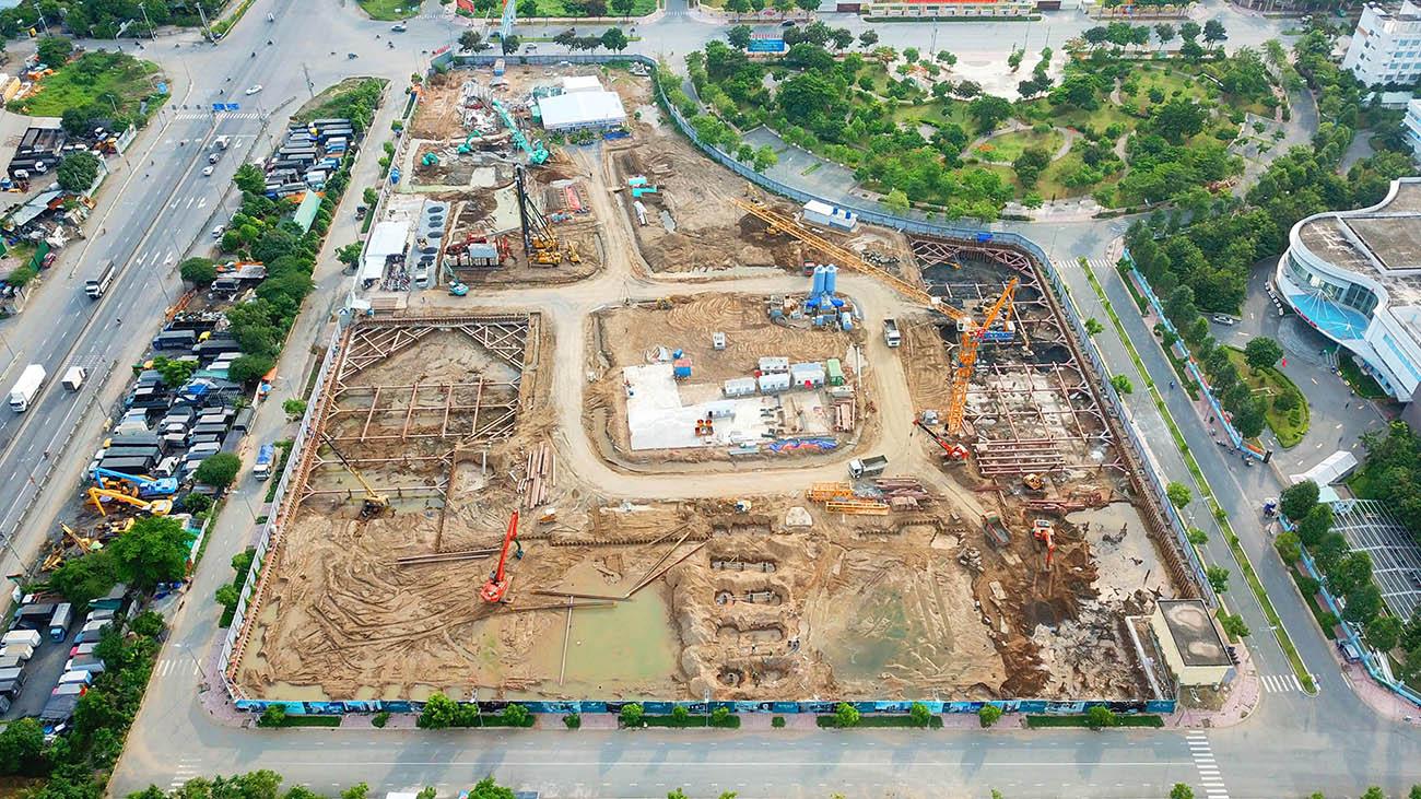 Tiến độ xây dựng dự án căn hộ West Gate Bình Chánh tháng 06/2021