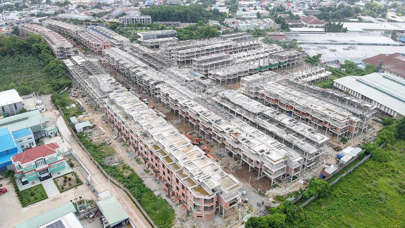 Tiến độ xây dựng dự án The Standard Bình Dương tháng 07.2021