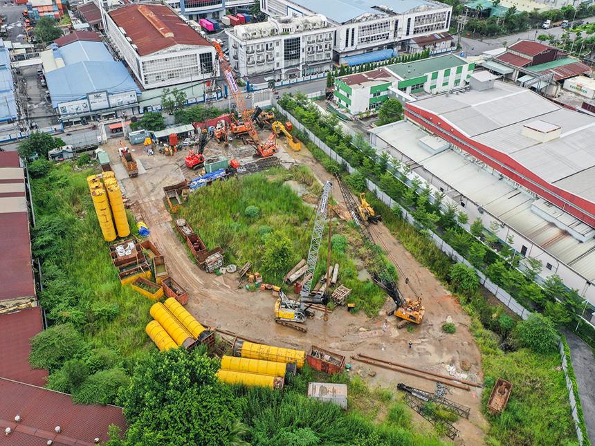 Tiến độ xây dựng dự án căn hộ Asiana Riverside Quận 7 tháng 07/2021