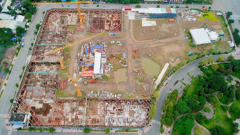 Tiến độ xây dựng dự án căn hộ West Gate Bình Chánh tháng 10/2021